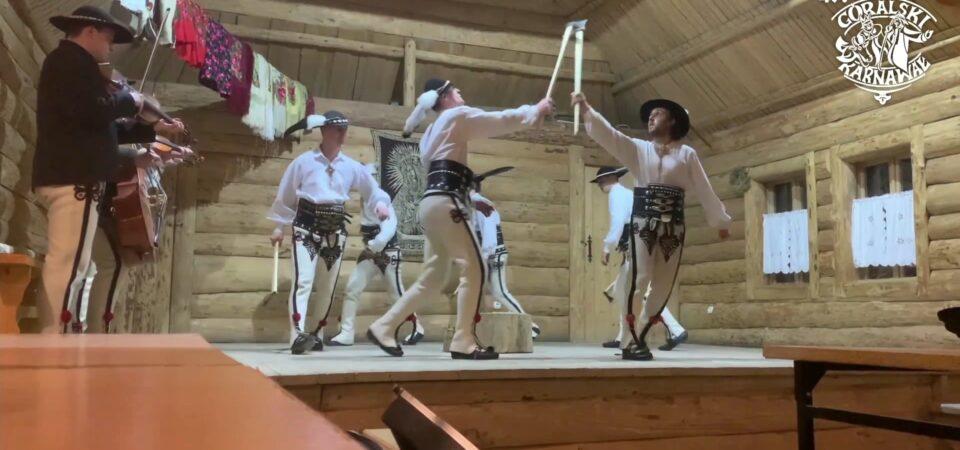 Protokół posiedzenia Komisji Artystycznej oceniającej popis par tanecznych i konkurs tańca zbójnickiego