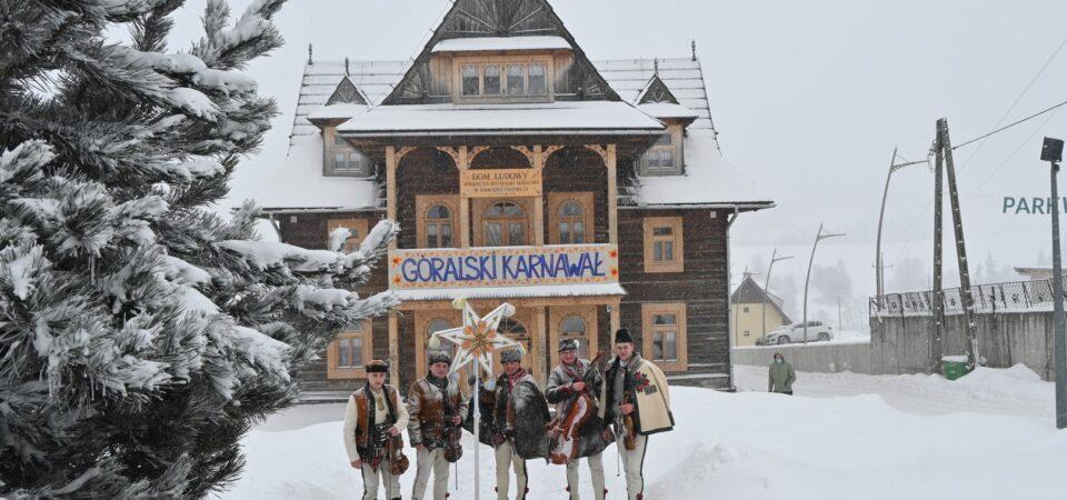 """W Bukowiańskim Centrum Kultury """"Dom Ludowy"""" 11 lutego, a właściwie na jego wirtualnej scenie rozpoczął się 49. Góralski Karnawał."""
